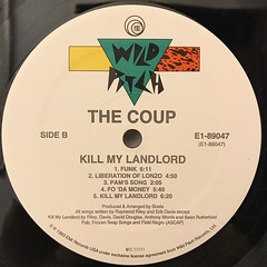 THE COUP:KILL MY LANDLORD(LABEL SIDE-B)