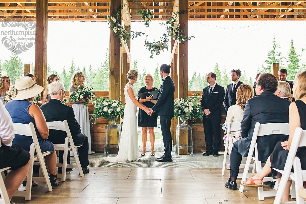 Barn Wedding Ceremony - Prince George BC