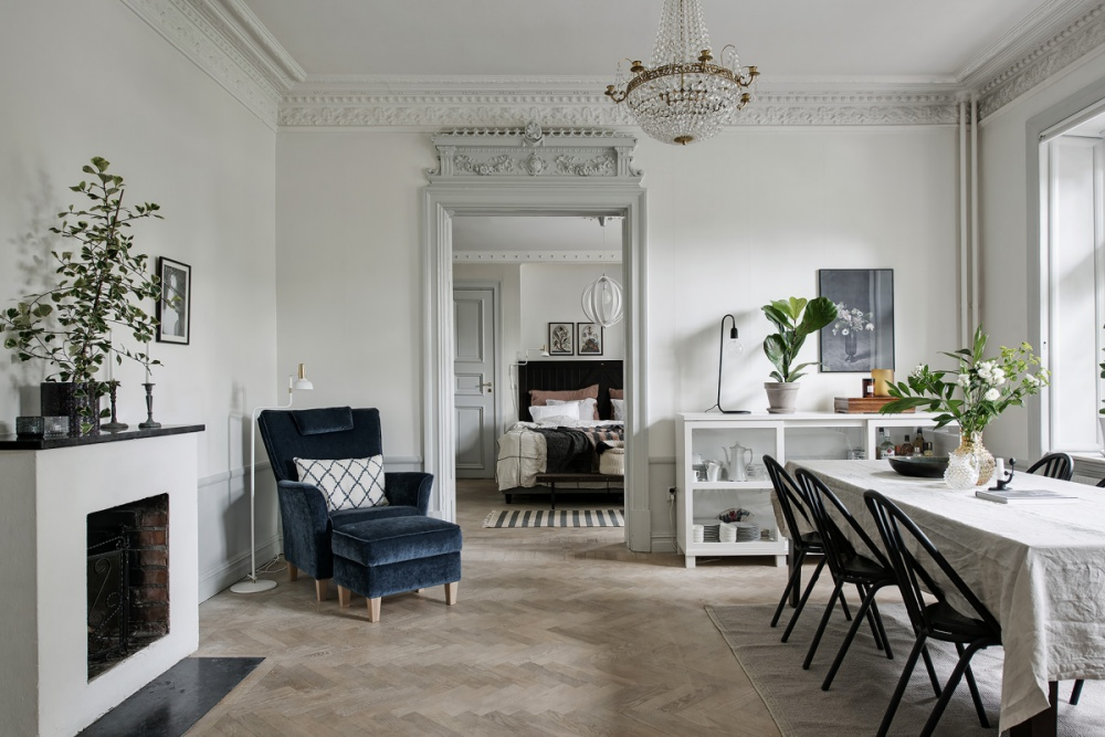 A Very Glamorous Swedish Home