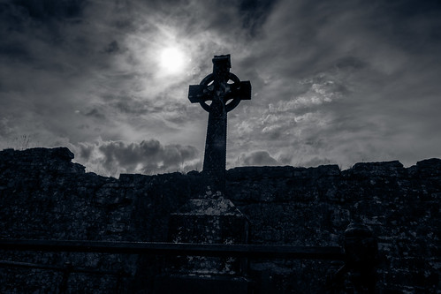 ireland ennis cletic cross graveyard clare abbey