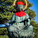 Buddha statue at Zenkoji Temple in Nagano, Japan