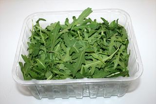 17 - Zutat Rucola / Ingredient rucola