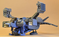 Lego Aliens Cheyenne Dropship and APC