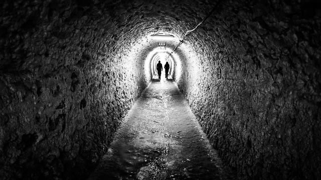 Underground - Romania - Black and white street photography