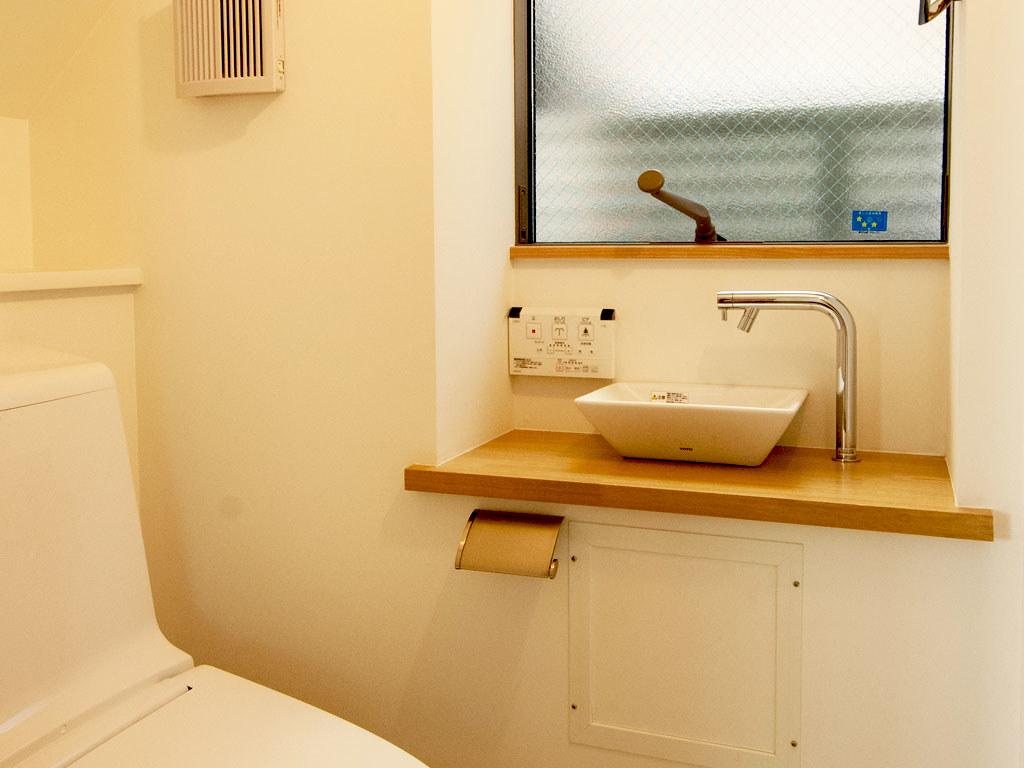 トイレ・ボウルタイプ手洗い器