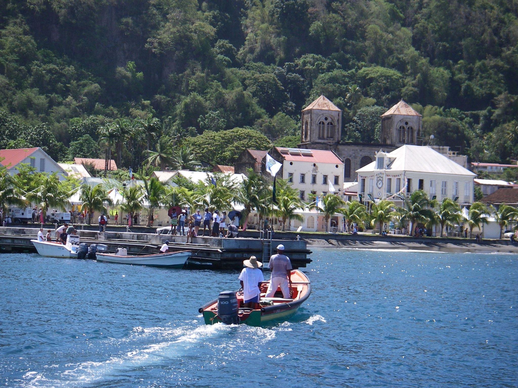Before the total destruction of Saint-Pierre in 1902 by a volcanic eruption, it was the most important city of Martinique culturally and economically, being known as