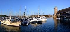 Falmouth Panorama 2. Nikon D3100. DSC_0059-0065