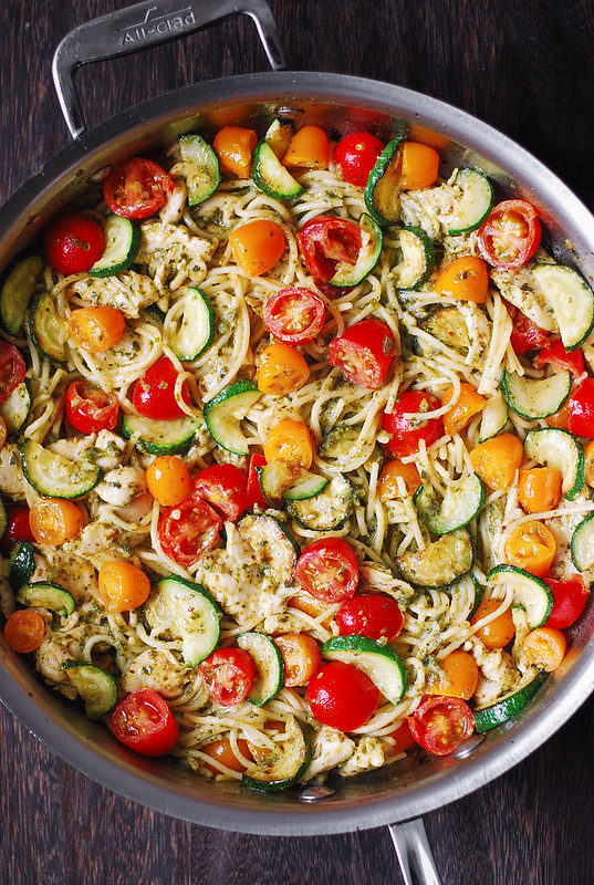 best summer pasta, best autumn pasta, healthy pasta recipe, healthy chicken pasta