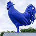 Katharina Fritsch, Hahn/Cock #walkerartcenter #minneapolis #minneapolissculpturegarden by Sharon Mollerus