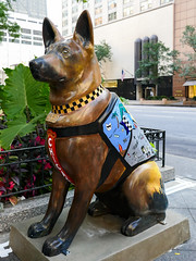 K9s for Cops Public Art Campaign - ? by Tami Bruno