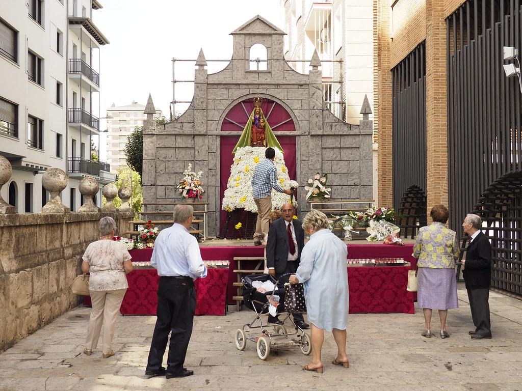 3-9-2017 Ofrenda floral y misa institucional Virgen de San Lorenzo