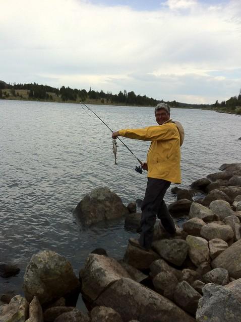 Beartooth Pierre fish Night Lake