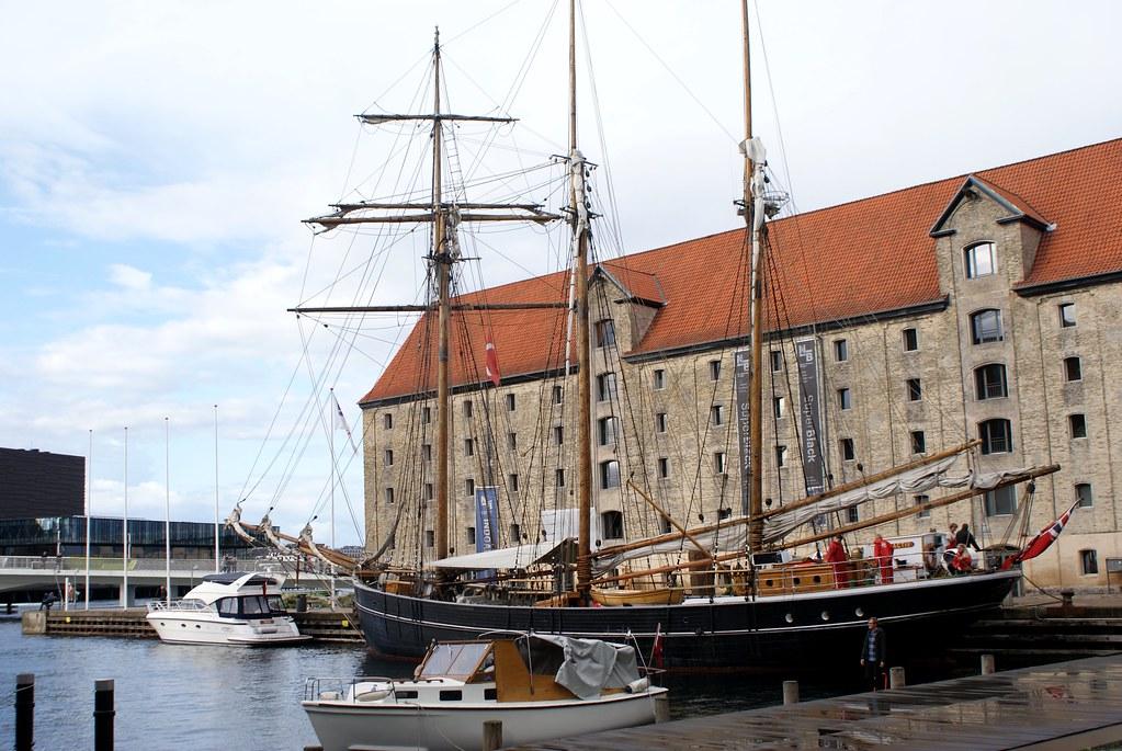 Centres culturels des pays nordiques dans le quartier de Christianshavn à Copenhague.