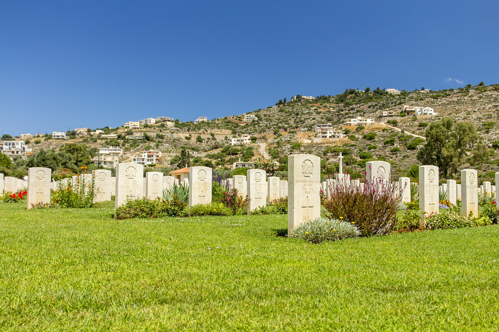 Souda Bay Allied War Cemetery - Crete, Greece