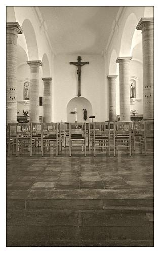 Journée du Patrimoine - l'église du village d'Angreau