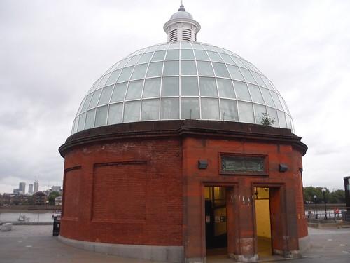 Greenwich Foottunnel Entrance