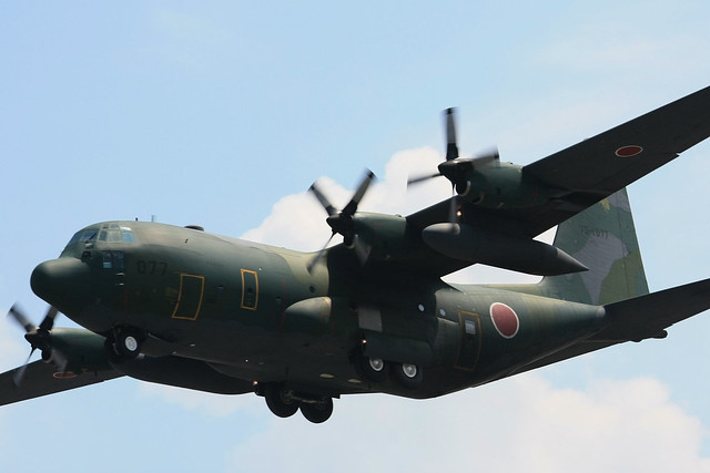 第401飛行隊 C-130H 75-1077 IMG_5820_3