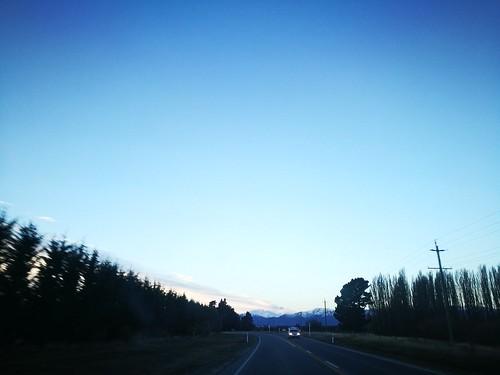 newzealand 新西兰 纽西兰 roadtrip blue sky