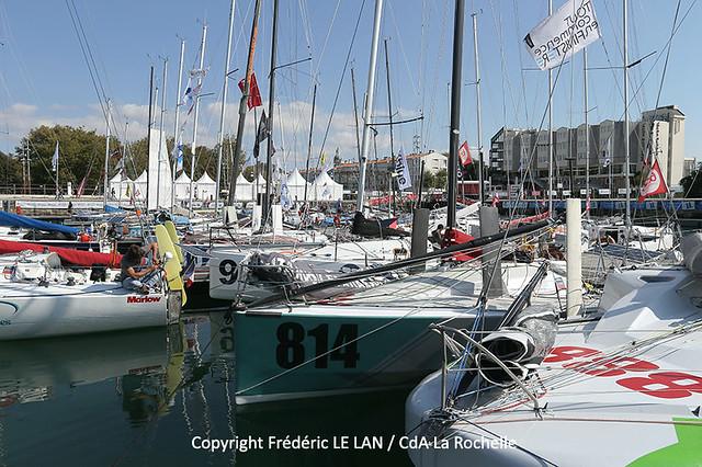 La Rochelle, ville départ de la Mini-Transat La Boulangère