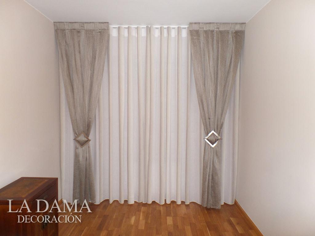 Fotograf as de cortinas cl sicas la dama decoraci n for Cortinas con volantes