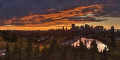 September Sunset - Edmonton