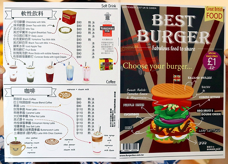 37339808906 74098c350d b - 熱血採訪| 漢堡巴士Burger Bus,台中也能吃到道地的英式傳統早餐和英式漢堡,英倫工業風裝潢輕食咖啡