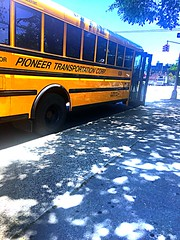 2016 IC CE Cummins ISB 6.7, Pioneer Transportation Corp, Bus#639, Air Brakes, Air Ride, Radio, No AC.