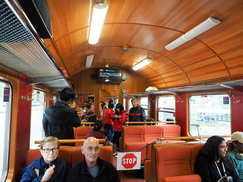 Riding the Flåm Railway
