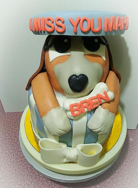 Missing You Dog Cake by Josephine Razon Sardan Galam