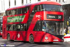 Wrightbus NRM NBFL - LTZ 1226 - LT226 - Victoria 38 - Arriva - London 2017 - Steven Gray - IMG_6856