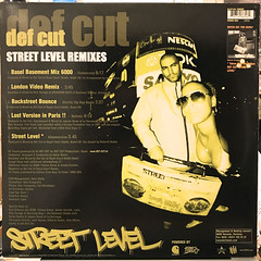 DEF CUT:STREET LEVEL REMIX(JACKET B)