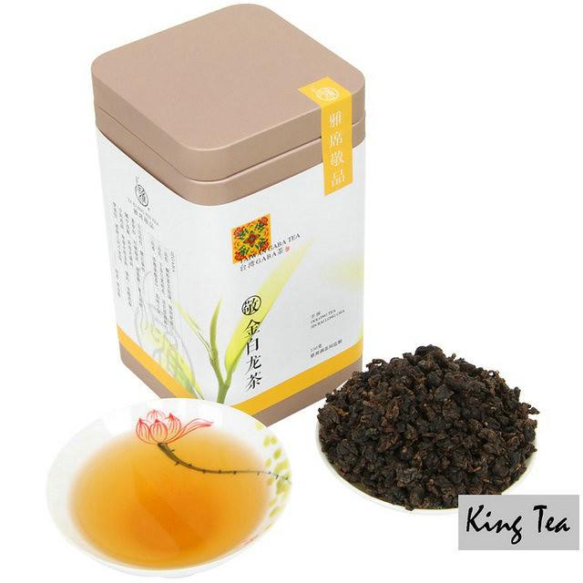 Free Shipping GABA Tea Jin Bai Long Cha From TaiWan DongDingOolong