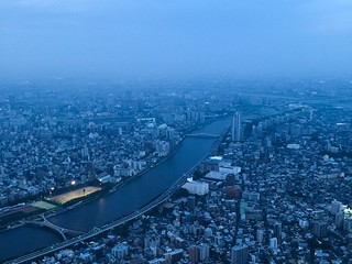 Nightfall, Tokyo
