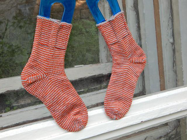 полосатые носки | striped socks - 5