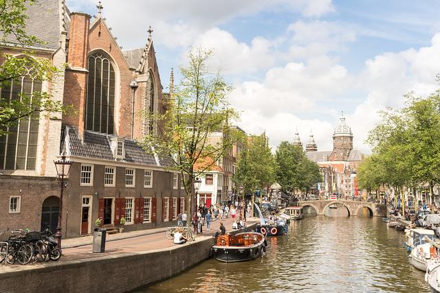 Oude Kerk & Sint-Nicolaaskerk