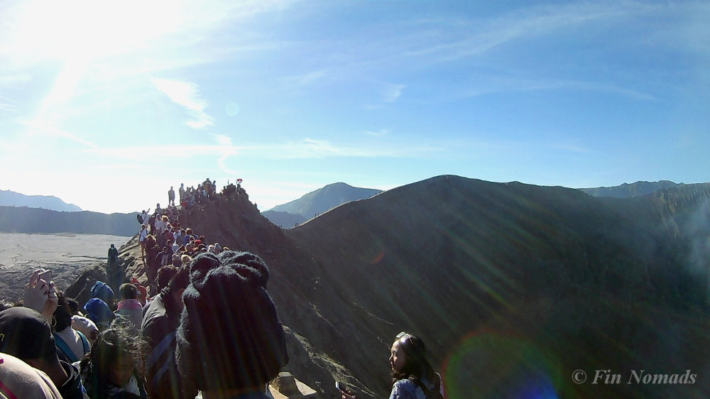 bromo volcano crater free hike