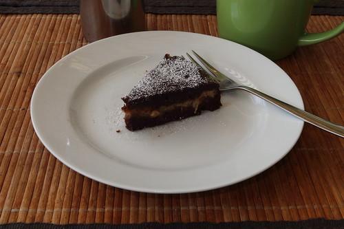 Schoko-Bananen-Kuchen (letztes Stück)