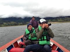At La Cocha Lagoon, Nariño