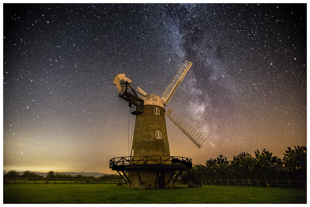 Wilton Windmill and the Milky Way