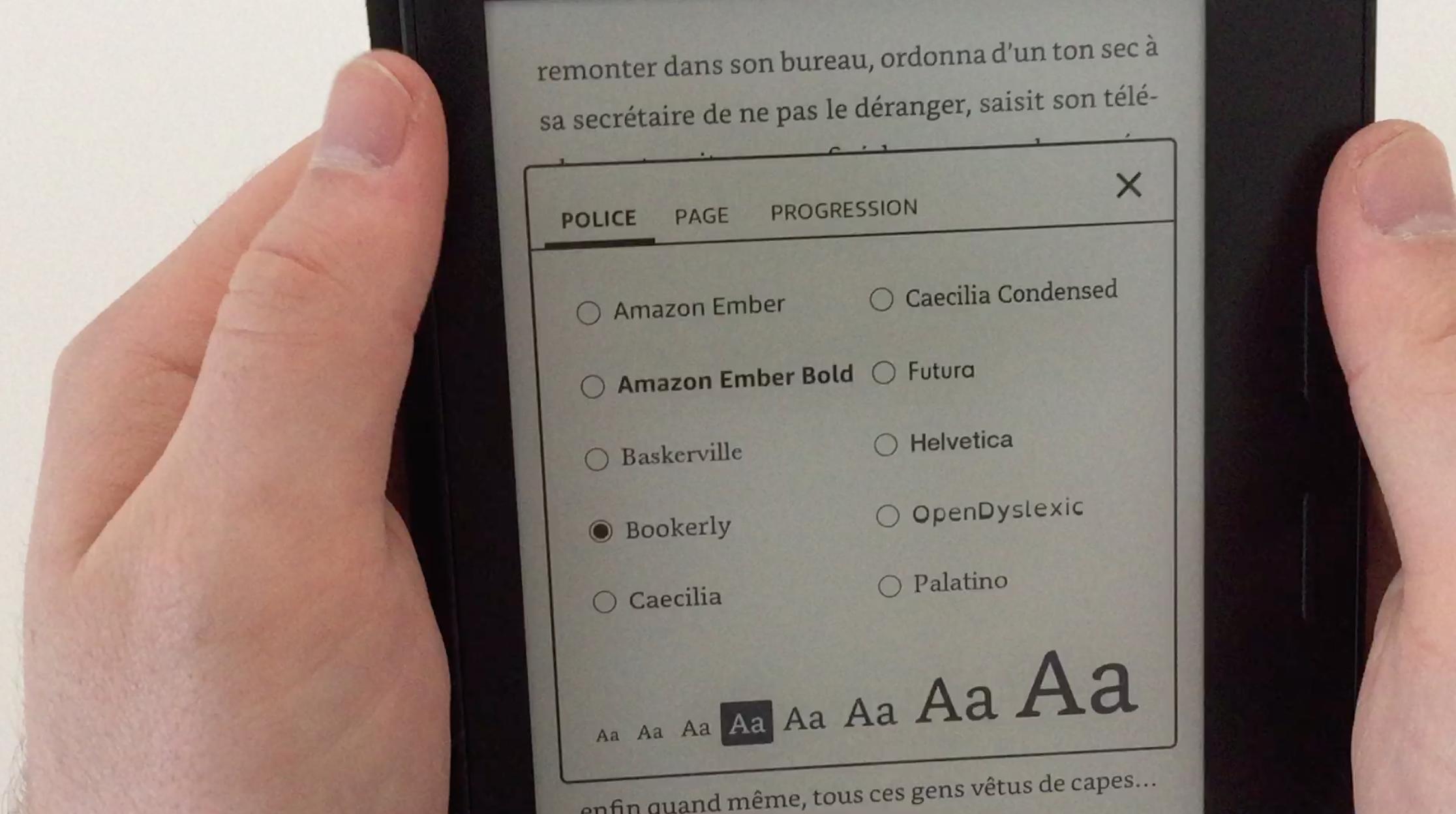 20170827 Test de la liseuse électronique Kindle OASIS Amazon 23