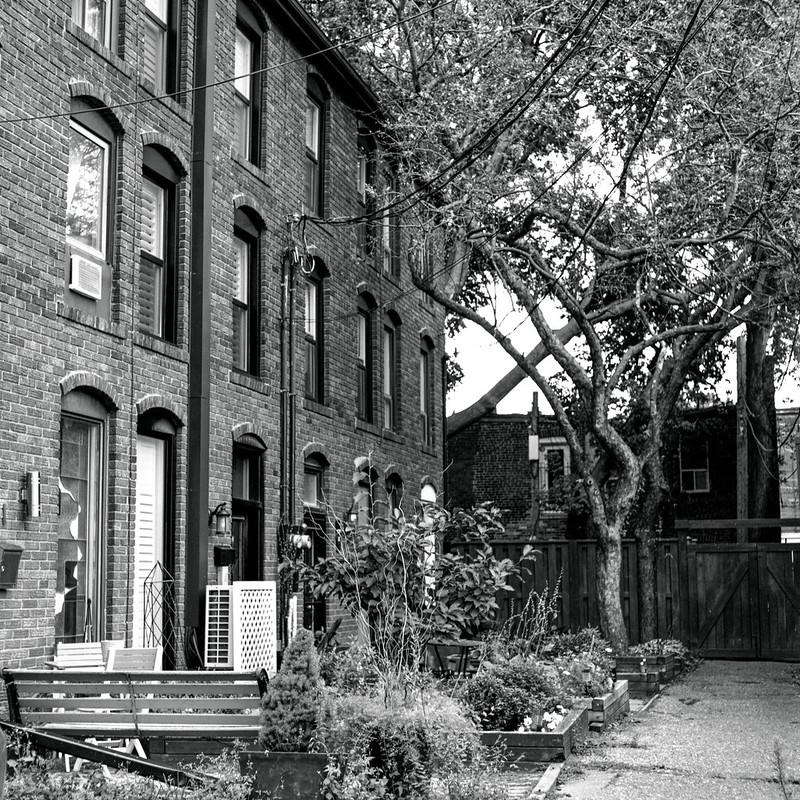 Secret Street Row Houses