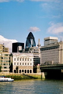 By The Thames, The Gherkin, Swiss RE