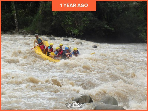 Costa Rica rafting. Adults only vacation. Feels so long ago. . . . #costarica #rafting #whitewaterrafting #whitewater #timehop @timehop #summer #2016