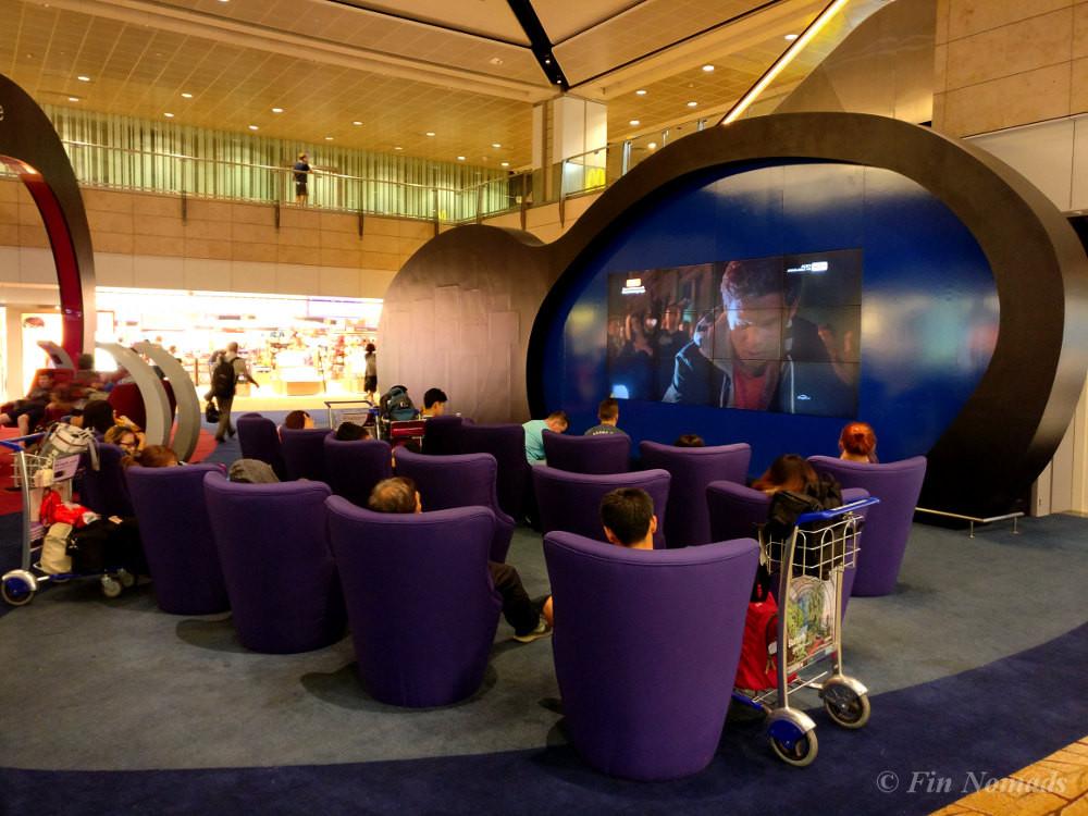 Singapore airport free entertainment