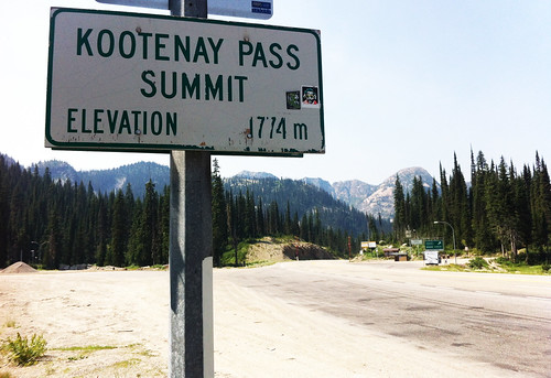 Kootenay Pass Summit copy