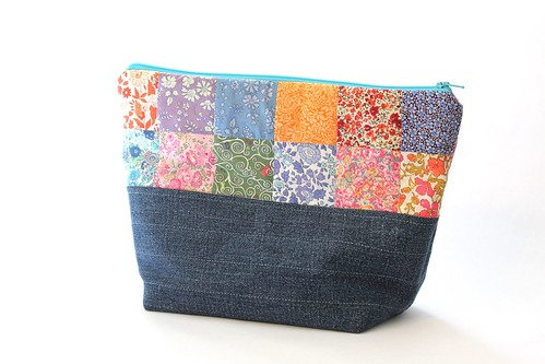 Liberty of London Zipper Pouch on ETSY