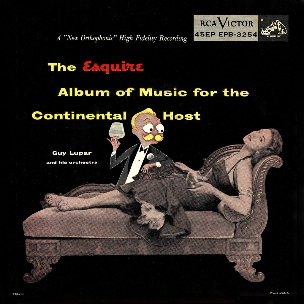 Guy Lupar - The Esquire Album of Music for the Continental Host