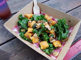 Sweet Potato Gnocchi from Gatherer's at Brisbane Vegan Markets