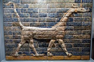 Ishtar Gate of Babylon, 6th cent. BCE, Ny Carlsberg Glyptotek, Copenhagen (2)