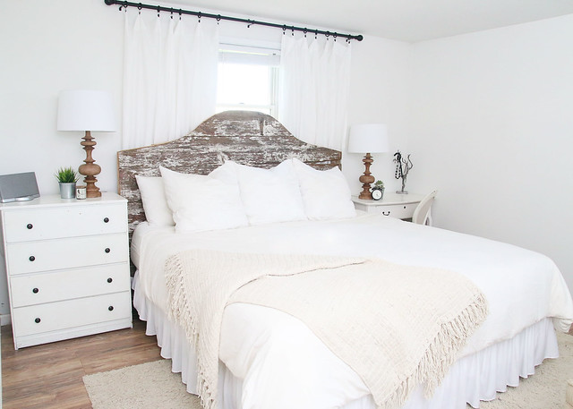 Master Bedroom $100 Makeover
